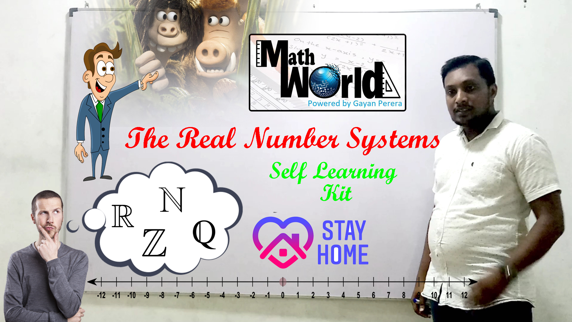 Real Numbers | MathWorld EP 1| Self Learning Tutorial